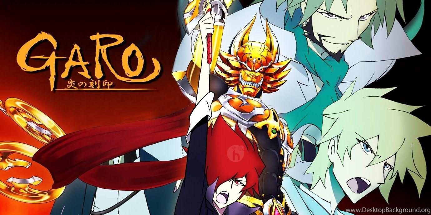 Garo Honoo No Kokuin Review Characters I Am The Golden Knight