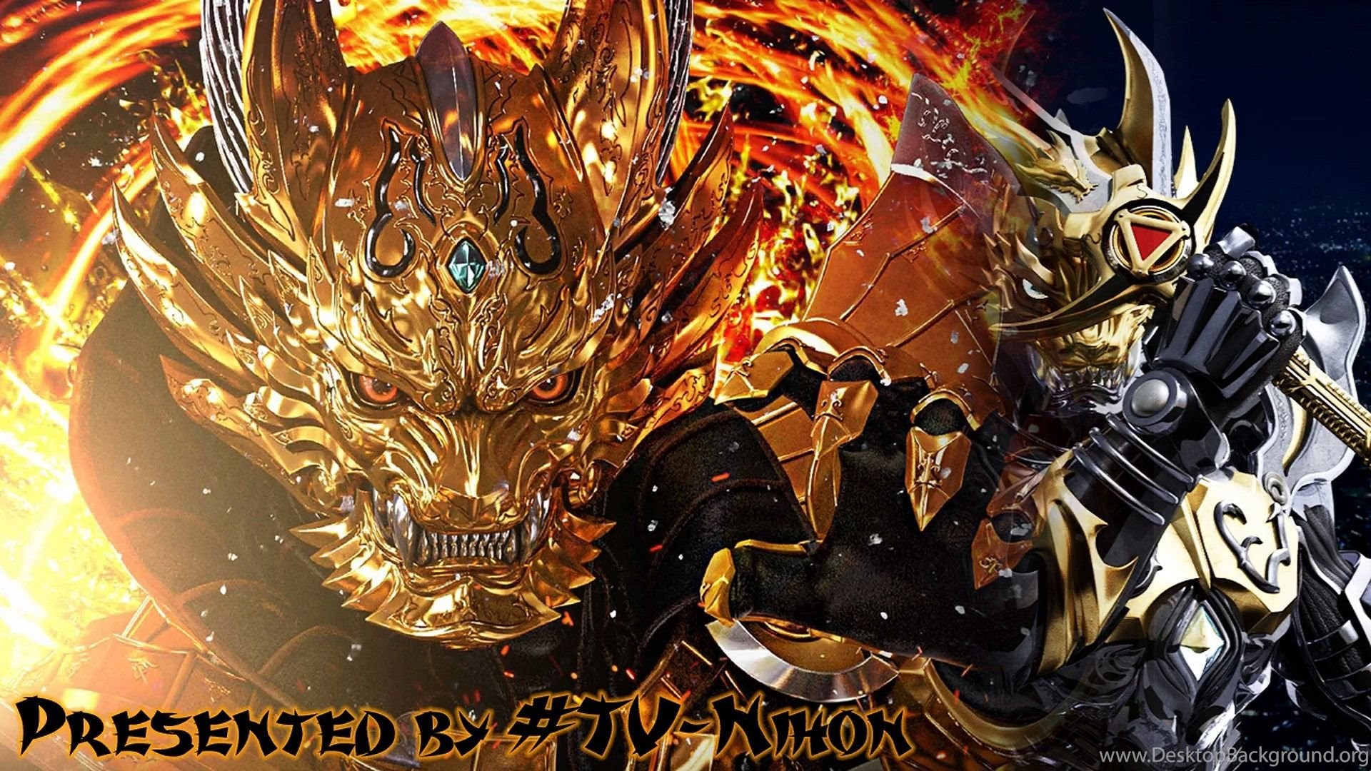 Garo Gold Storm Shou Episode 18 English Subbed Darkness