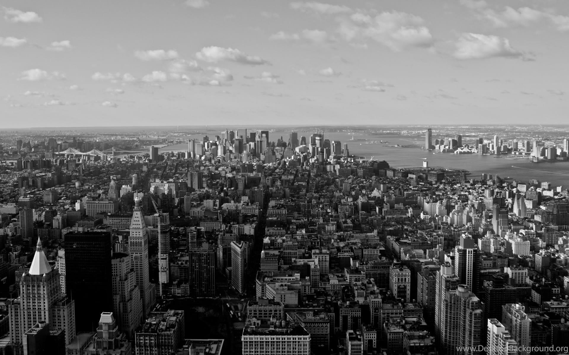 New York Wallpapers Black And White Wallpapers 776729 Desktop