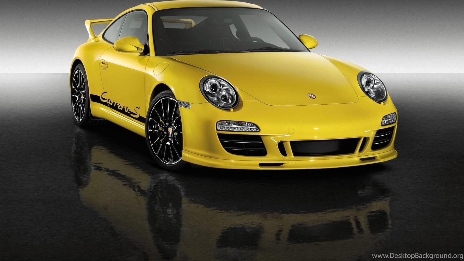 Yellow Porsche 911 Turbo Wallpapers Image Gallery Vehicle Wallpapers Desktop Background