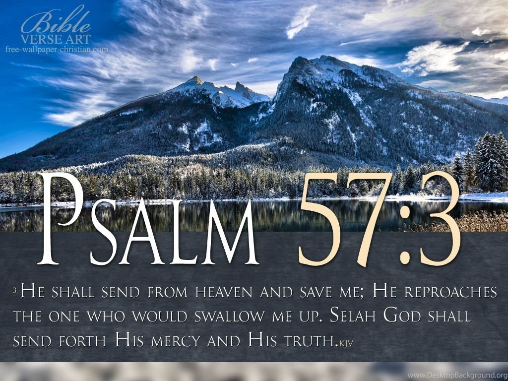 Wallpapers Christian Kjv Psalm Scripture Hd 1024x768 Desktop Background