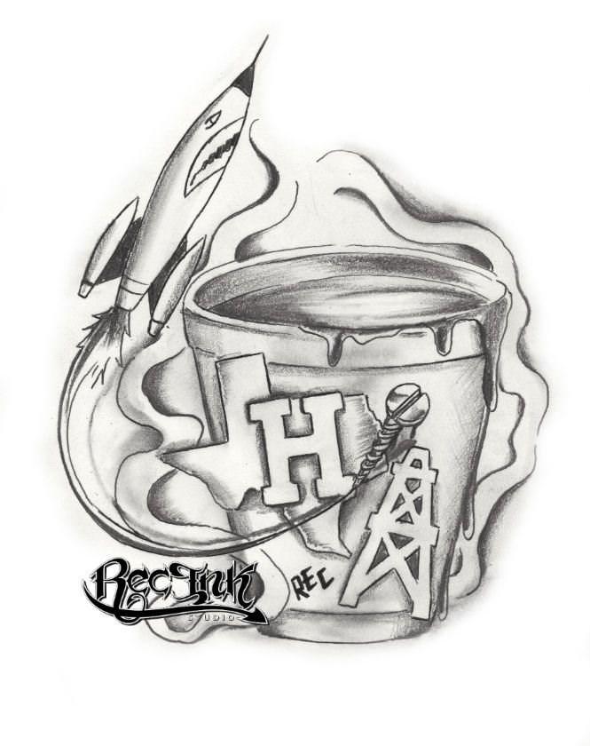 H Town Tattoo713Hustletown Screwston HTX By TXREC On DeviantArt
