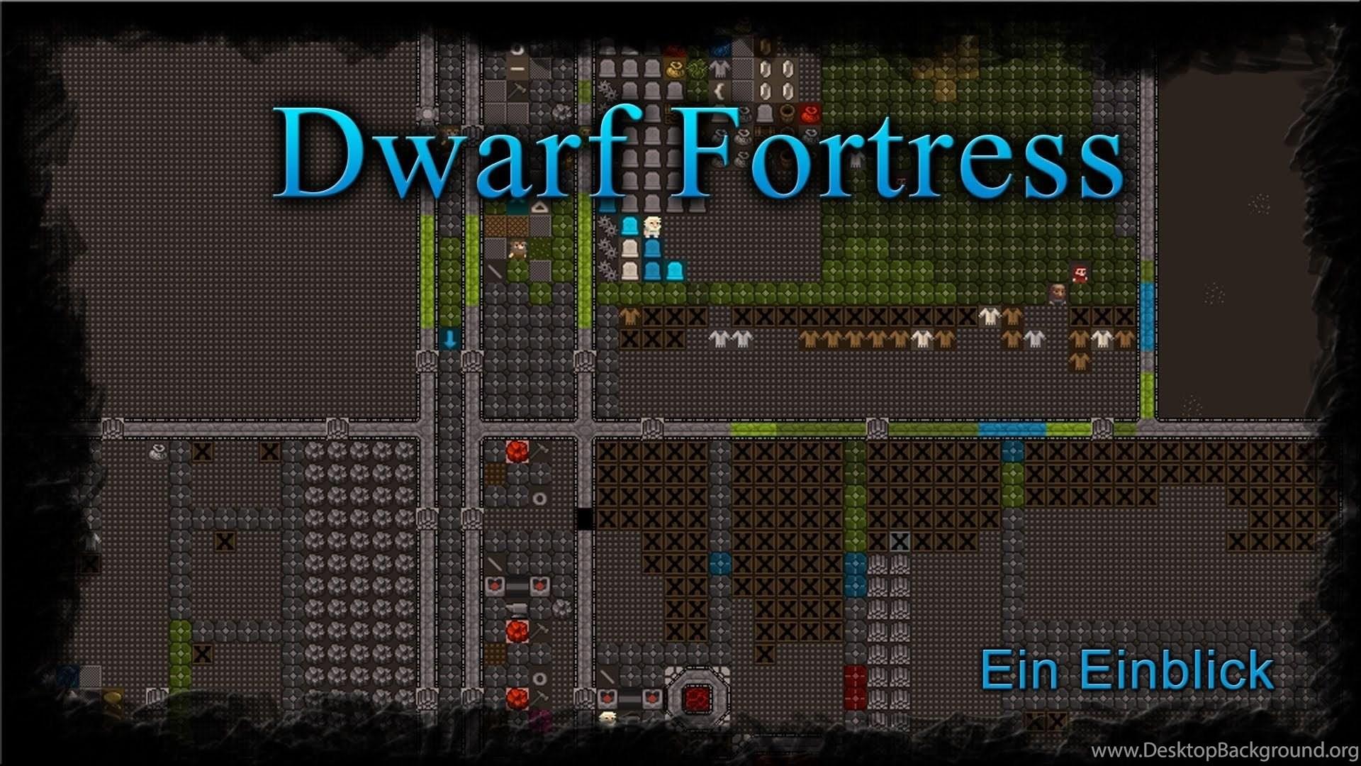 Dwarf Fortress Ein Einblick (Mayday Graphikset) YouTube