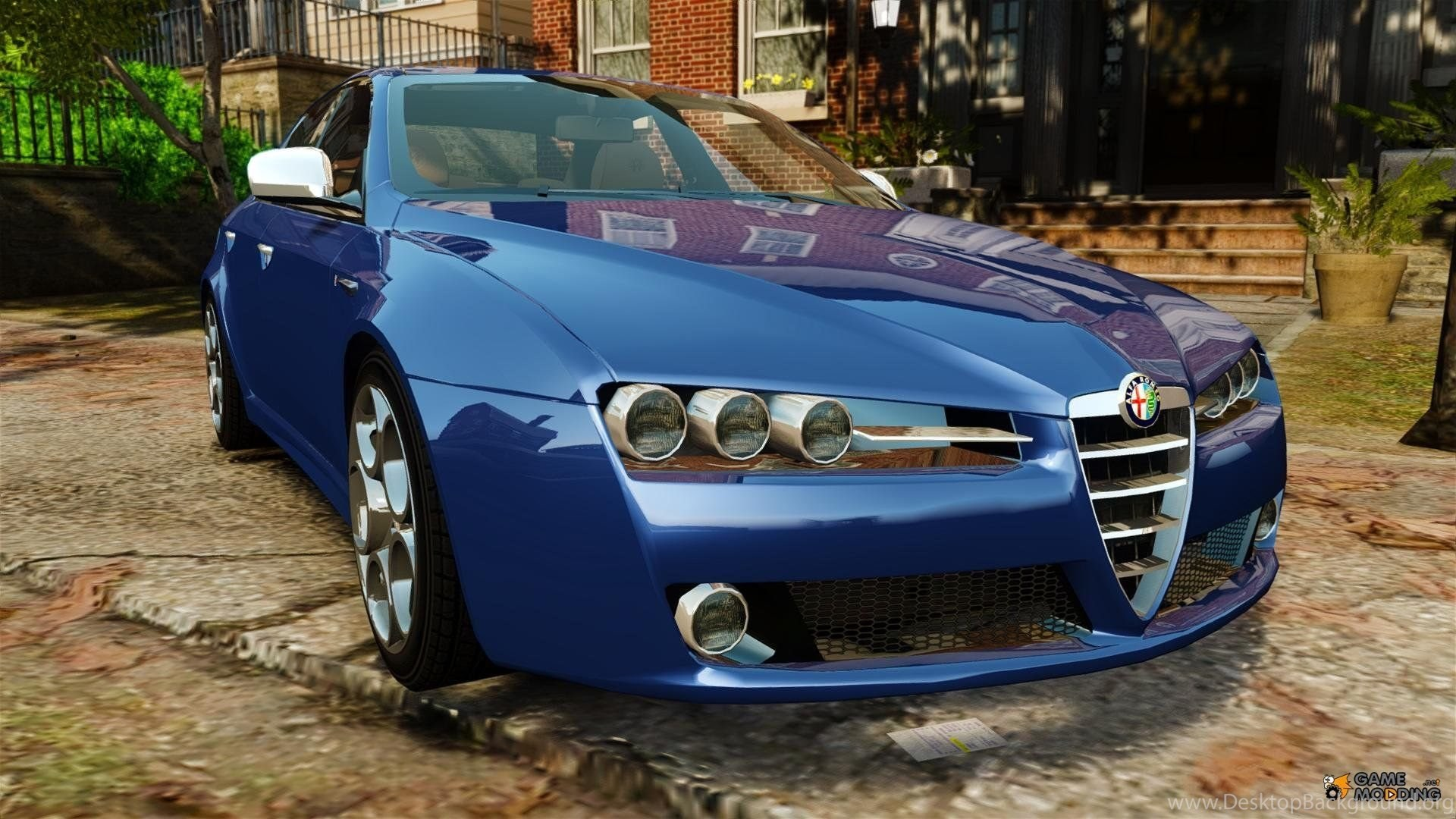 Blue Alfa Romeo 159 Wallpapers And Images Wallpapers Pictures