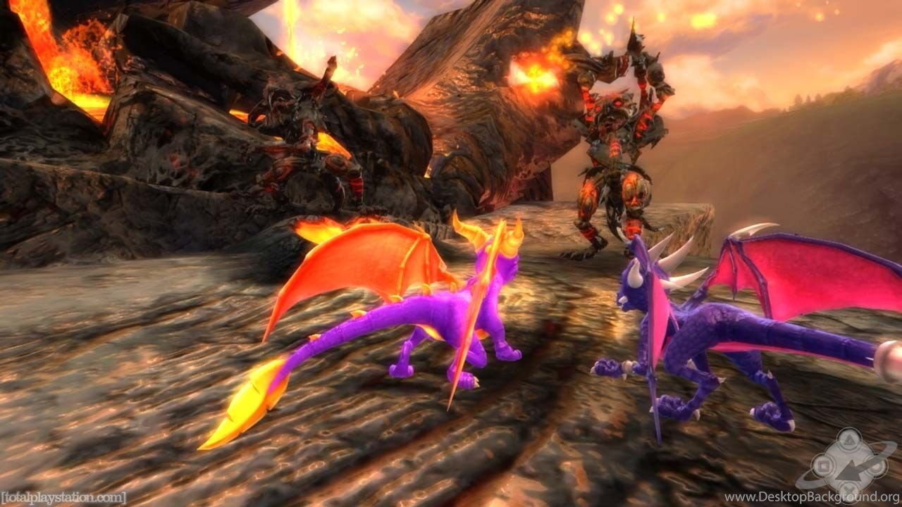 Wallpapers Dawn Of The Dead Legend Spyro Dragon 1280x720 Desktop