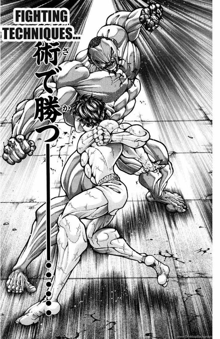 Baki The Grappler By Godzillafighter92 On Deviantart Desktop Background