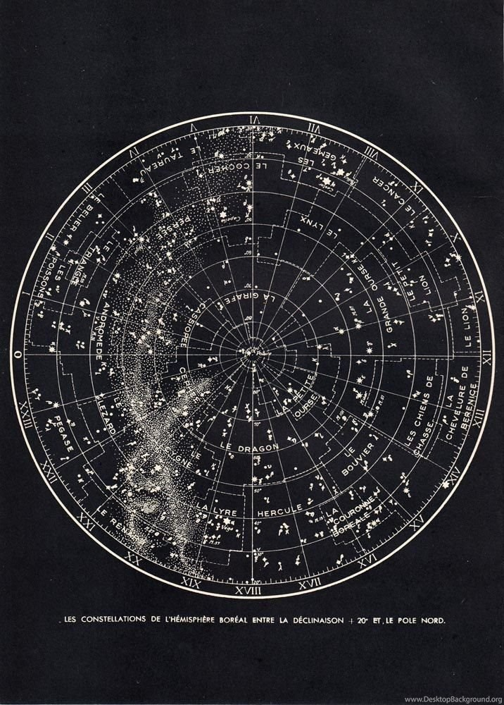 astronomy star charts constellations - 716×1000