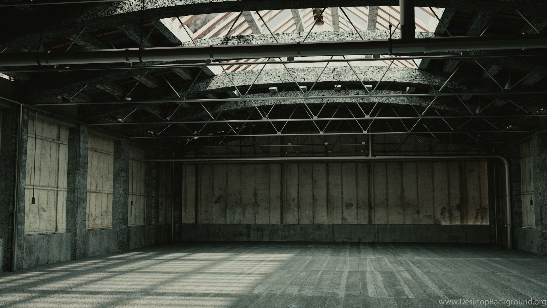 Пустой гараж картинка