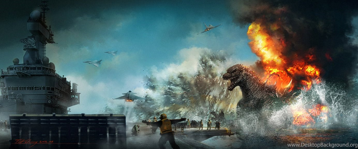 Godzilla Wallpapers Hd Backgrounds Download Facebook Covers