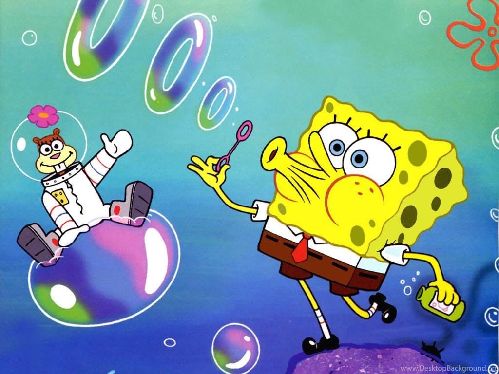 gangster sandy from spongebob desktop background