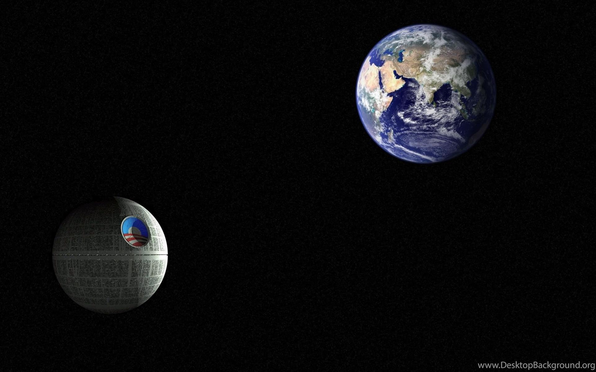 Earth Death Star Wars Digital Art 1920x1200 HD Wallpapers