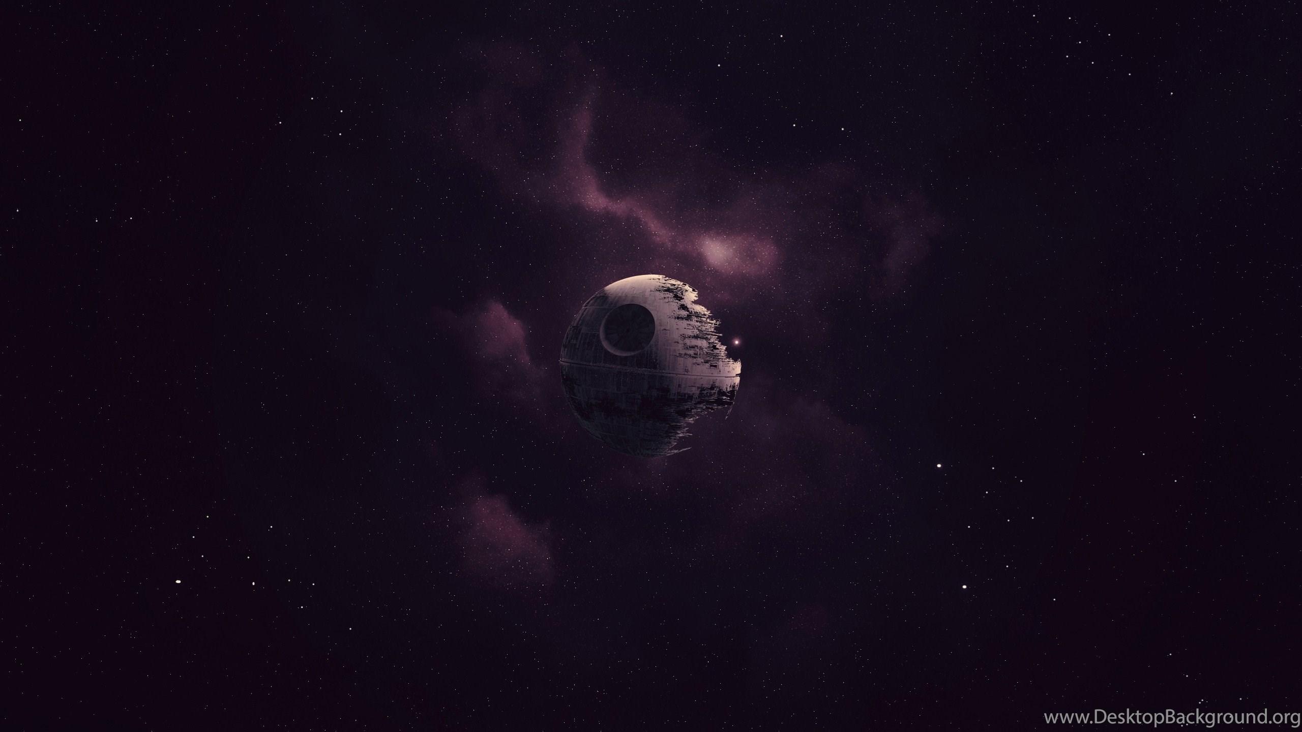 Star Wars Death Star Artwork Space Purple Wallpapers Hd