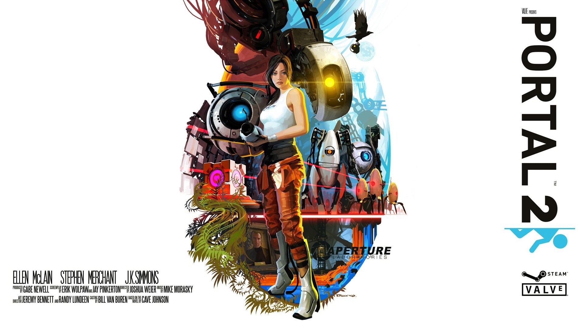 Download The Portal 2 By Valve Wallpaper Portal 2 By Valve Iphone