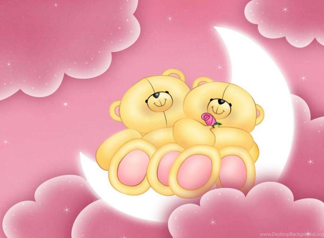 Cute Pink Teddy Bear Wallpapers For Desktop Happy Teddy Day