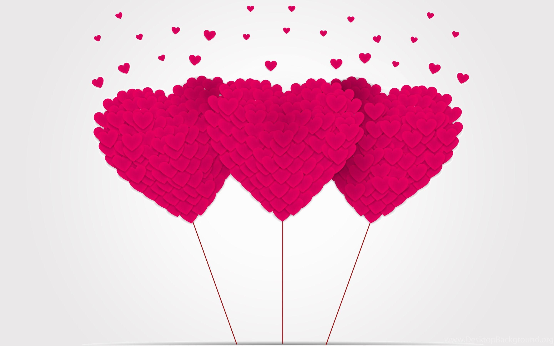 cute pink heart hd wallpapers desktop background
