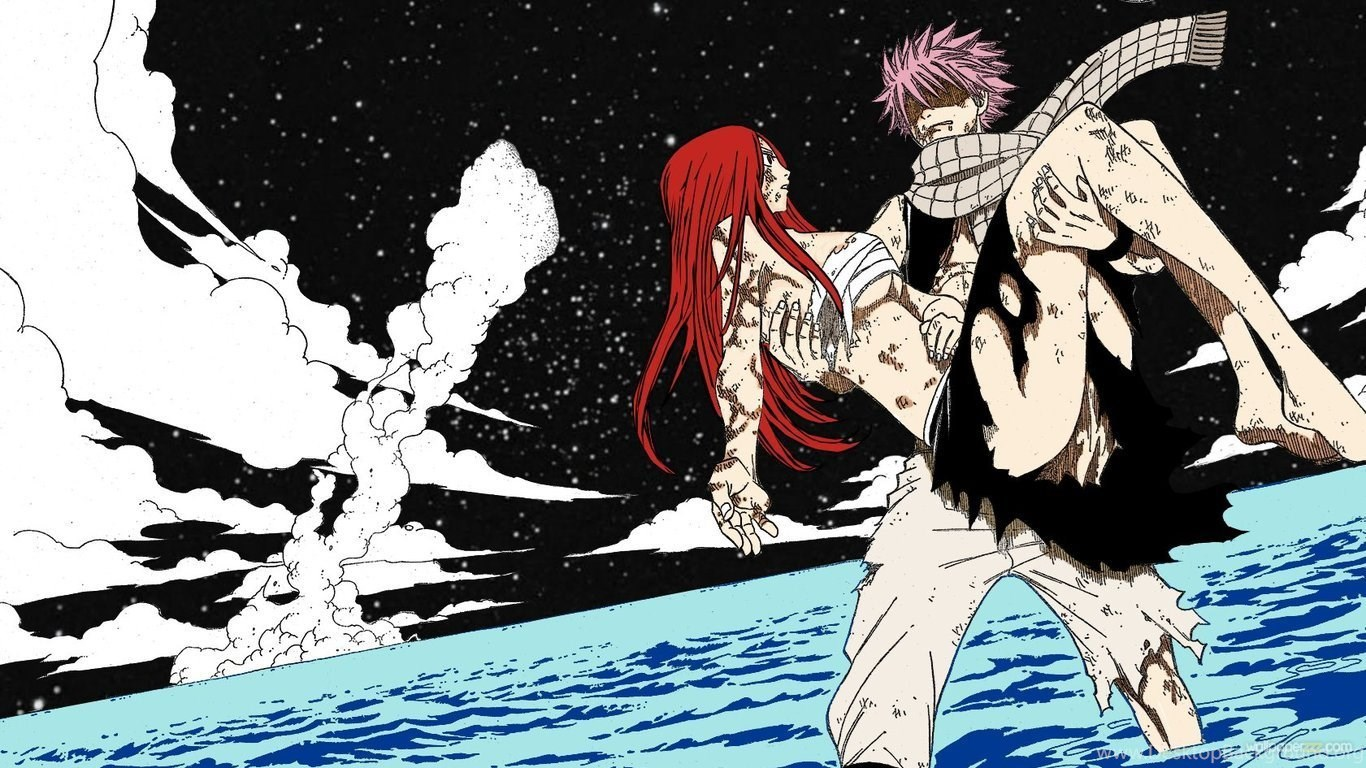 Wallpapers Anime Fairy Tail Hd 1366x768 Desktop Background