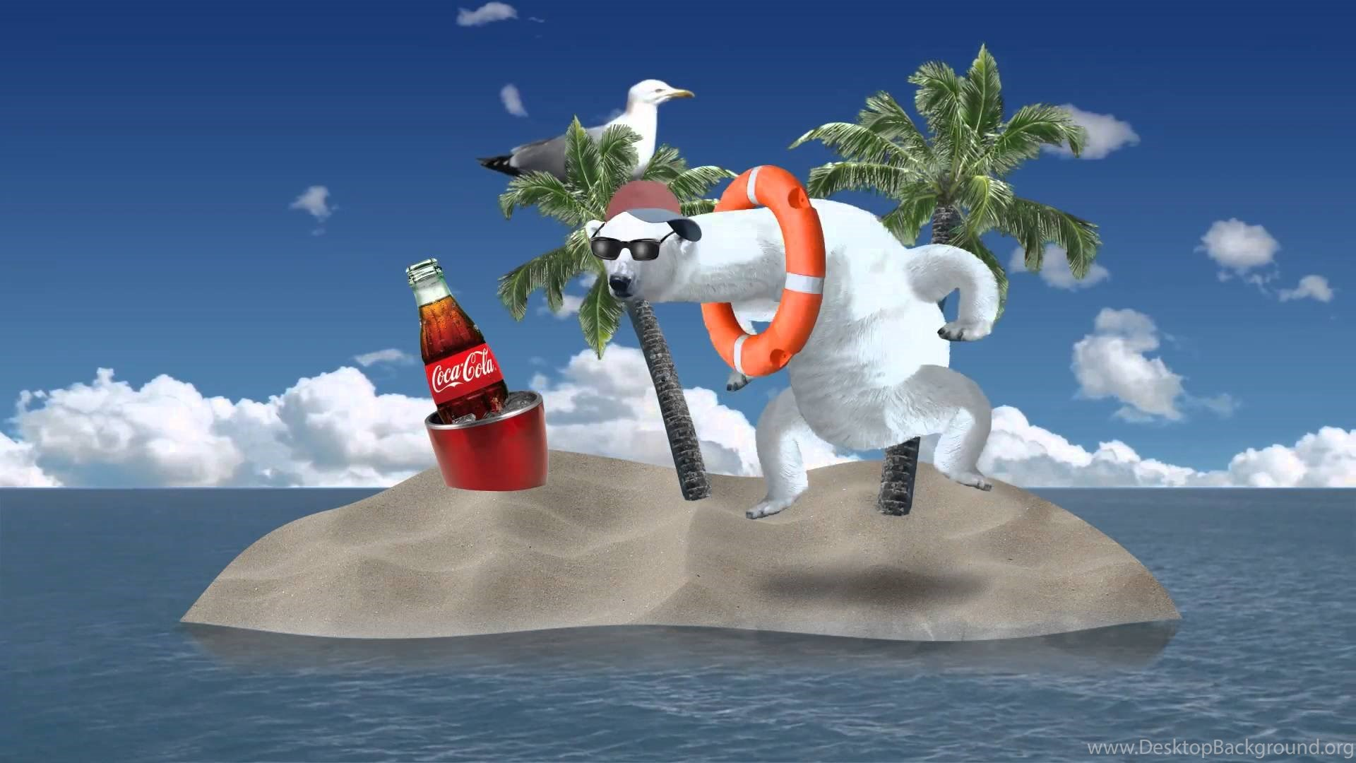 Polar Party An Animated Interactive Ad For Coca Cola By Cyriak Desktop Background