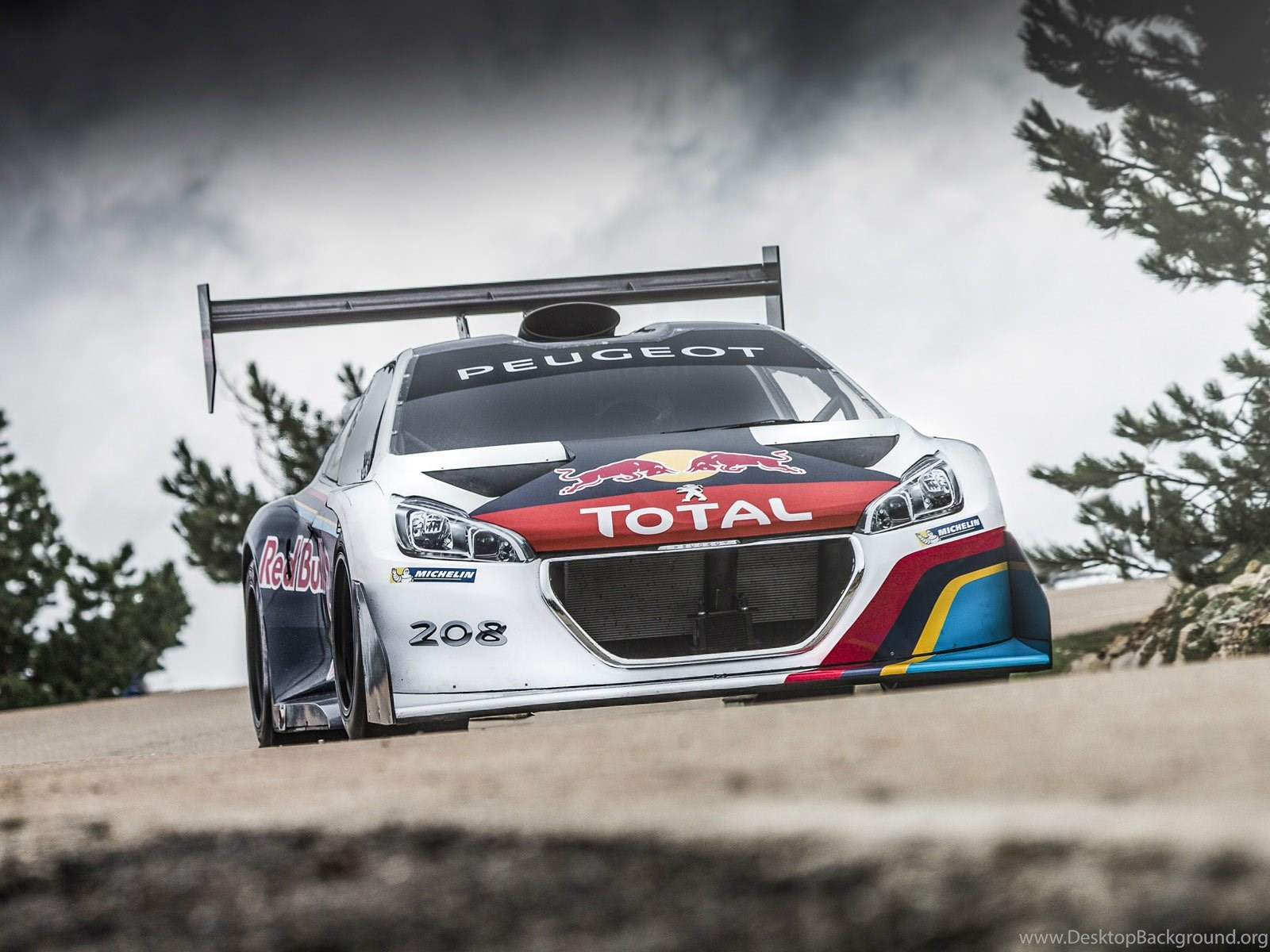 2013 Peugeot 208 T16 Pikes Peak Race Racing G Wallpapers Desktop