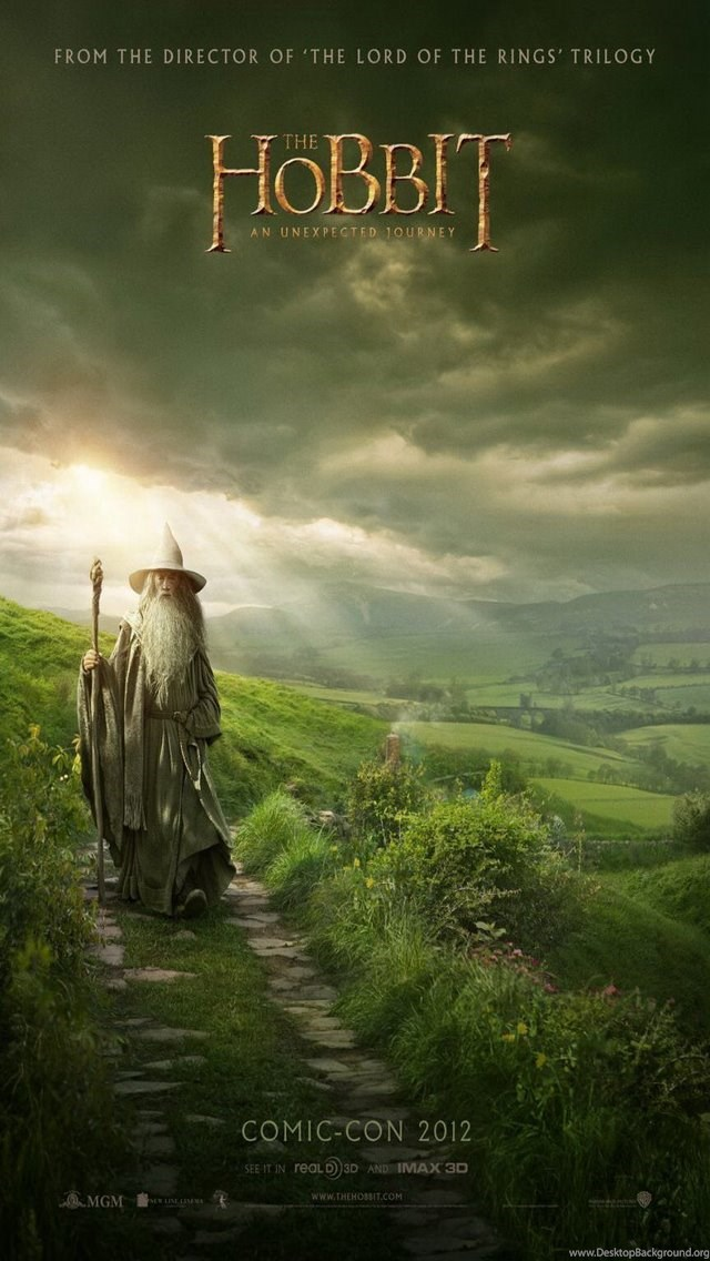 The Hobbit An Unexpected Journey Iphone 5 Wallpaper Backgrounds 4