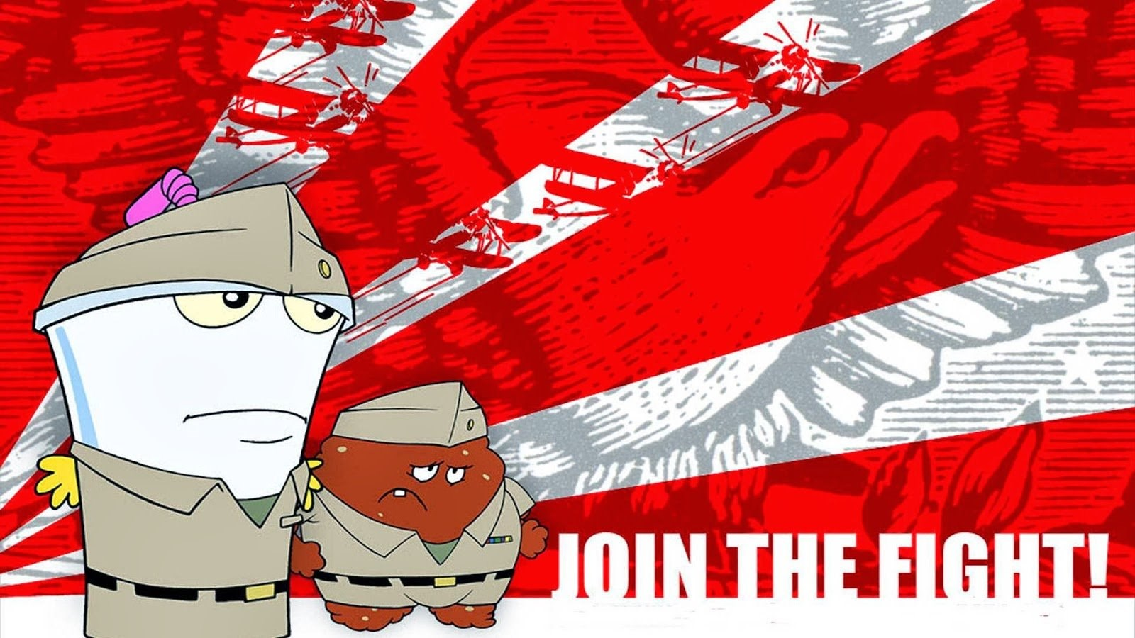 Wallpaper Wednesday It S A Aqua Teen Hunger Force Type Of Hump