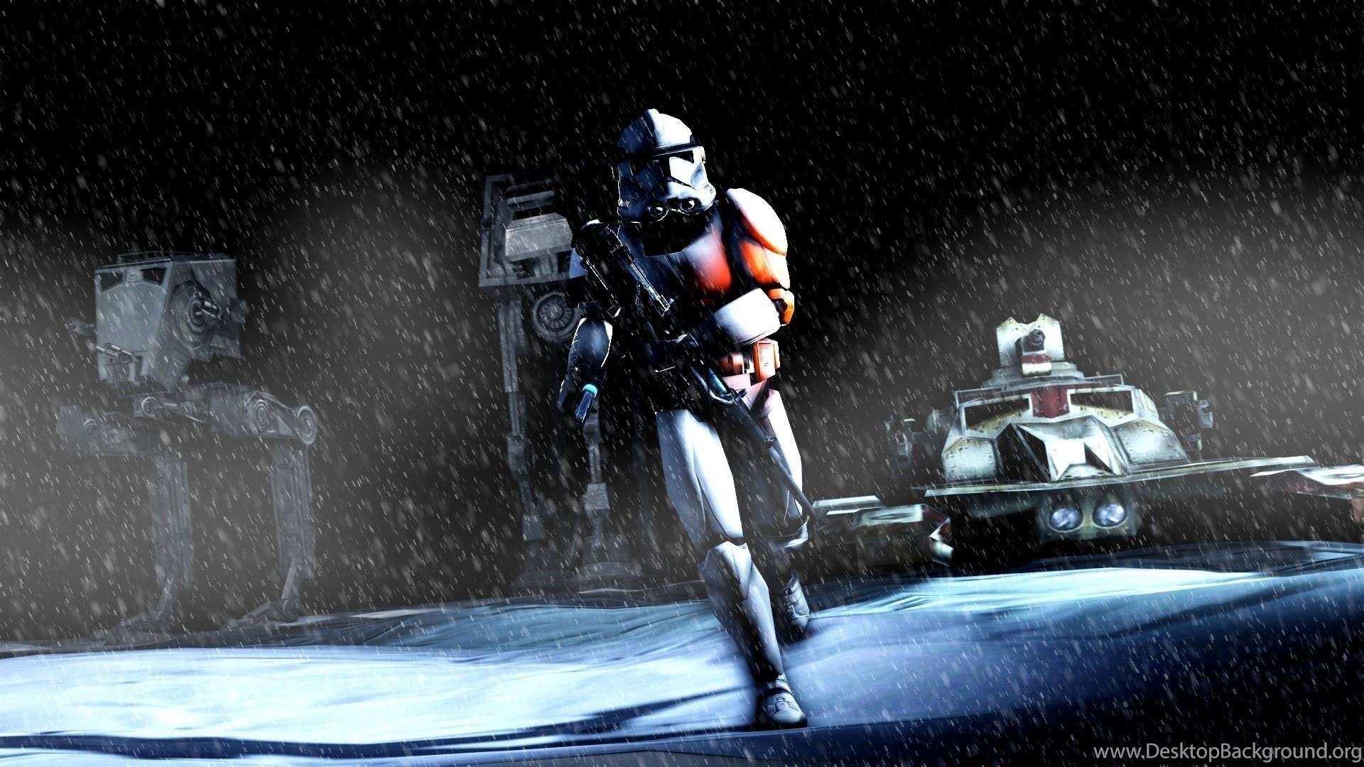 Star Wars Battlefront In Rain Wallpaper Hd Jpg Desktop Background