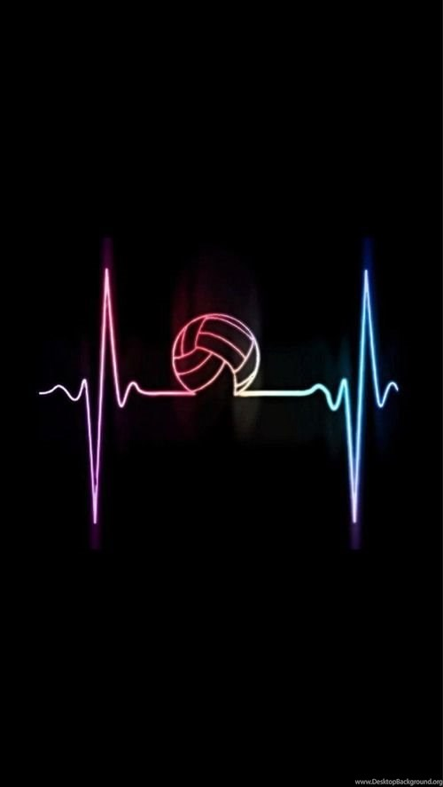 Volleyball Is Life Desktop Background