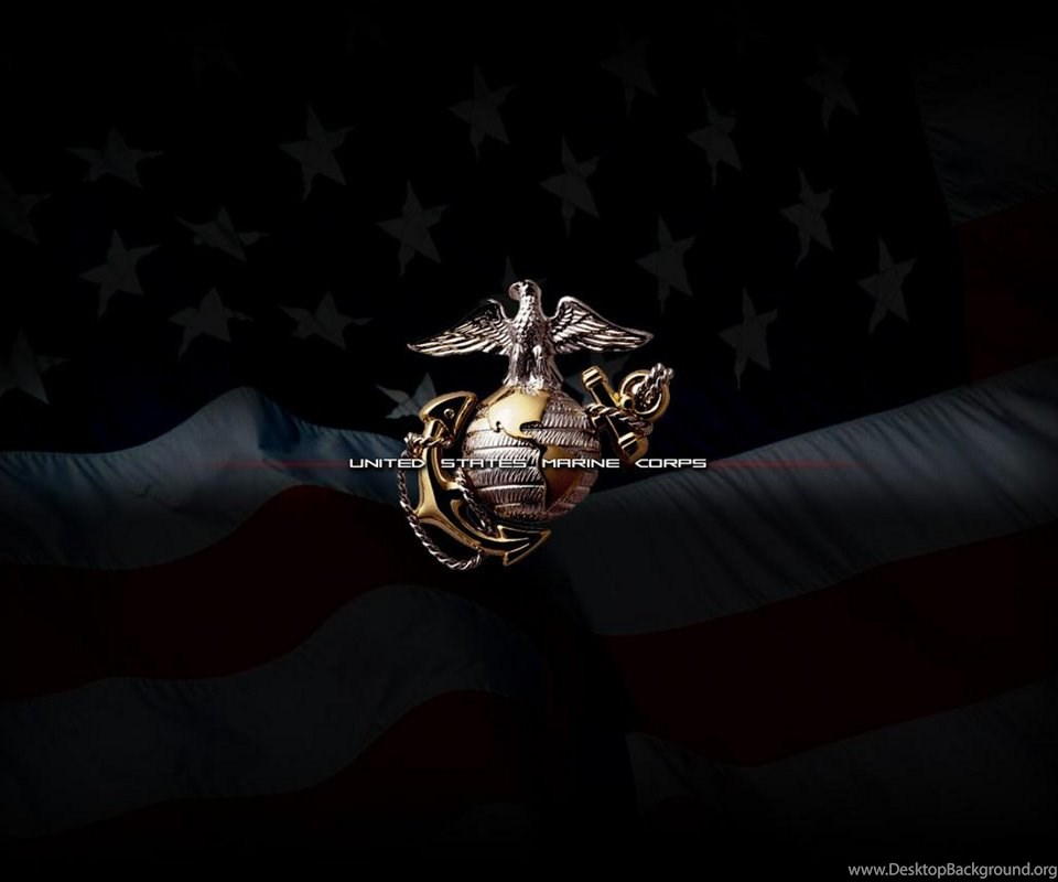 Usmc Logo Wallpaper: Usmc Flag Logos Wallpapers For Android Download Free