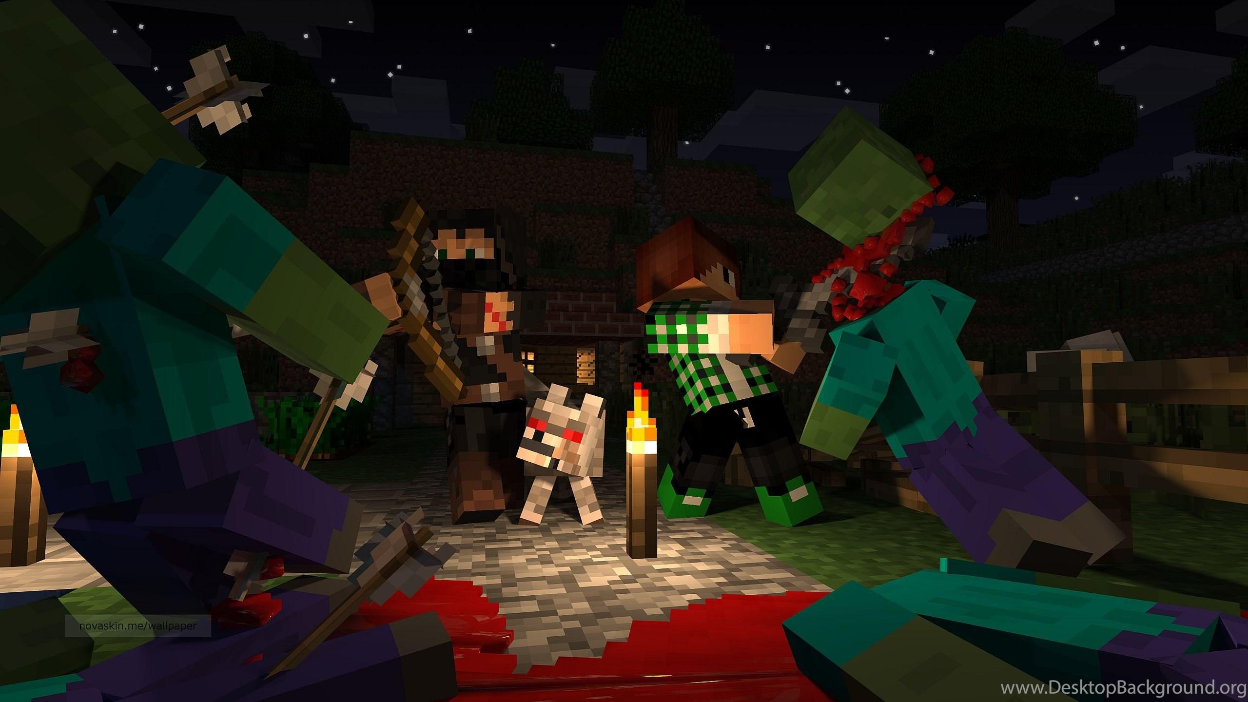Terraria Or Minecraft Minecraft Blog Desktop Background