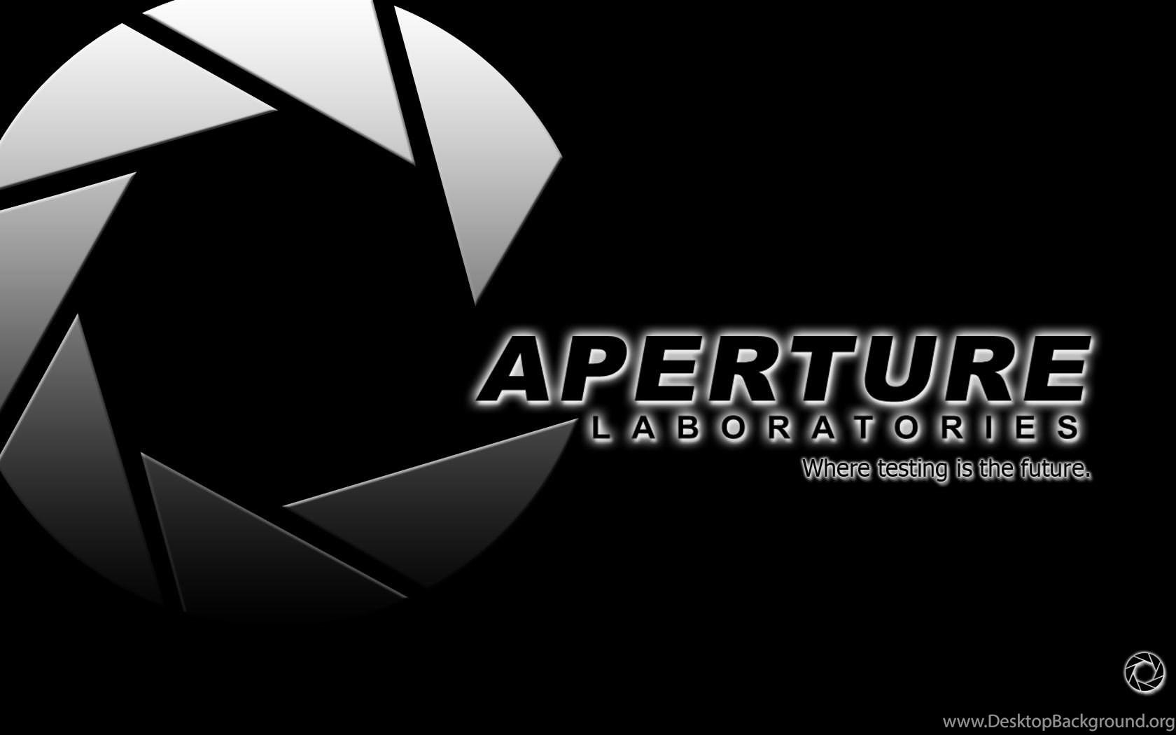 aperture science backgrounds wallpapers cave desktop background