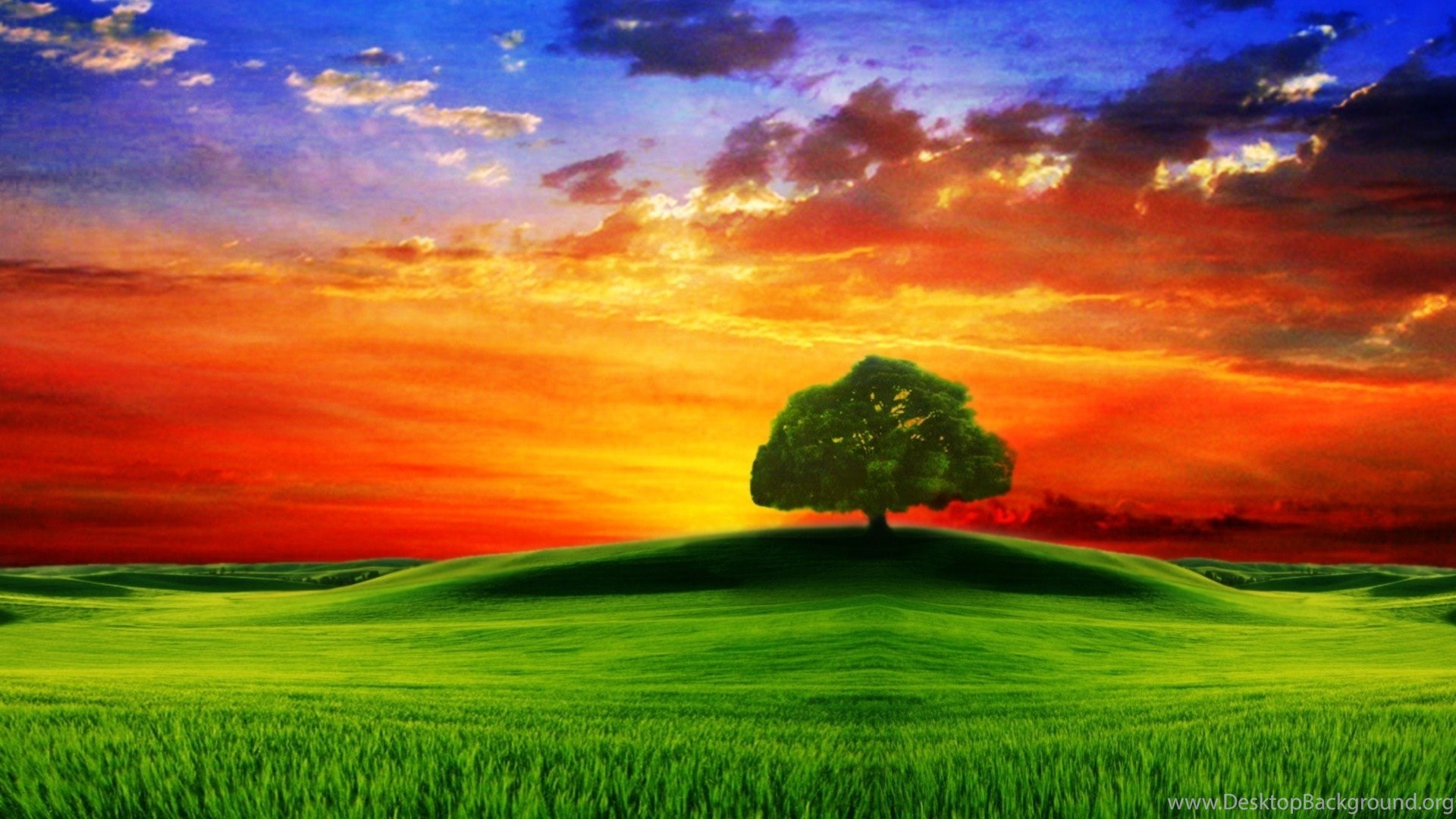 wallpapers background sceneries nature sunset laptops