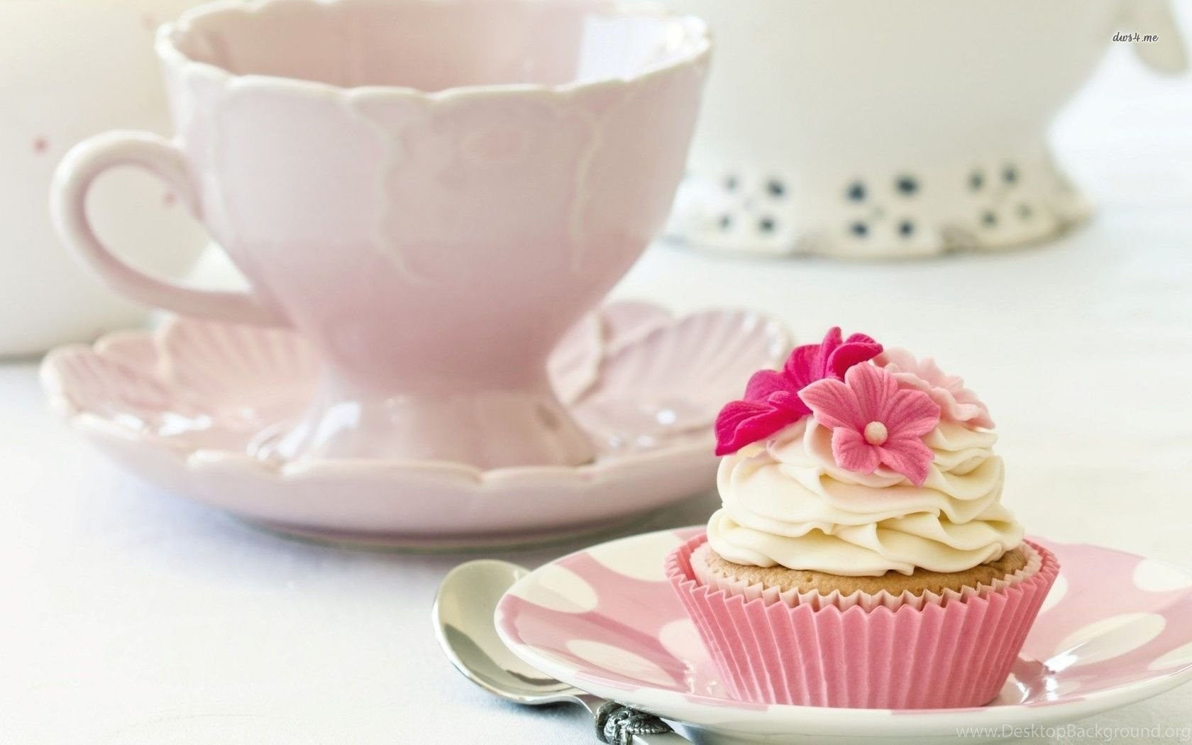 tea and cupcakes wallpapers photography wallpapers desktop background