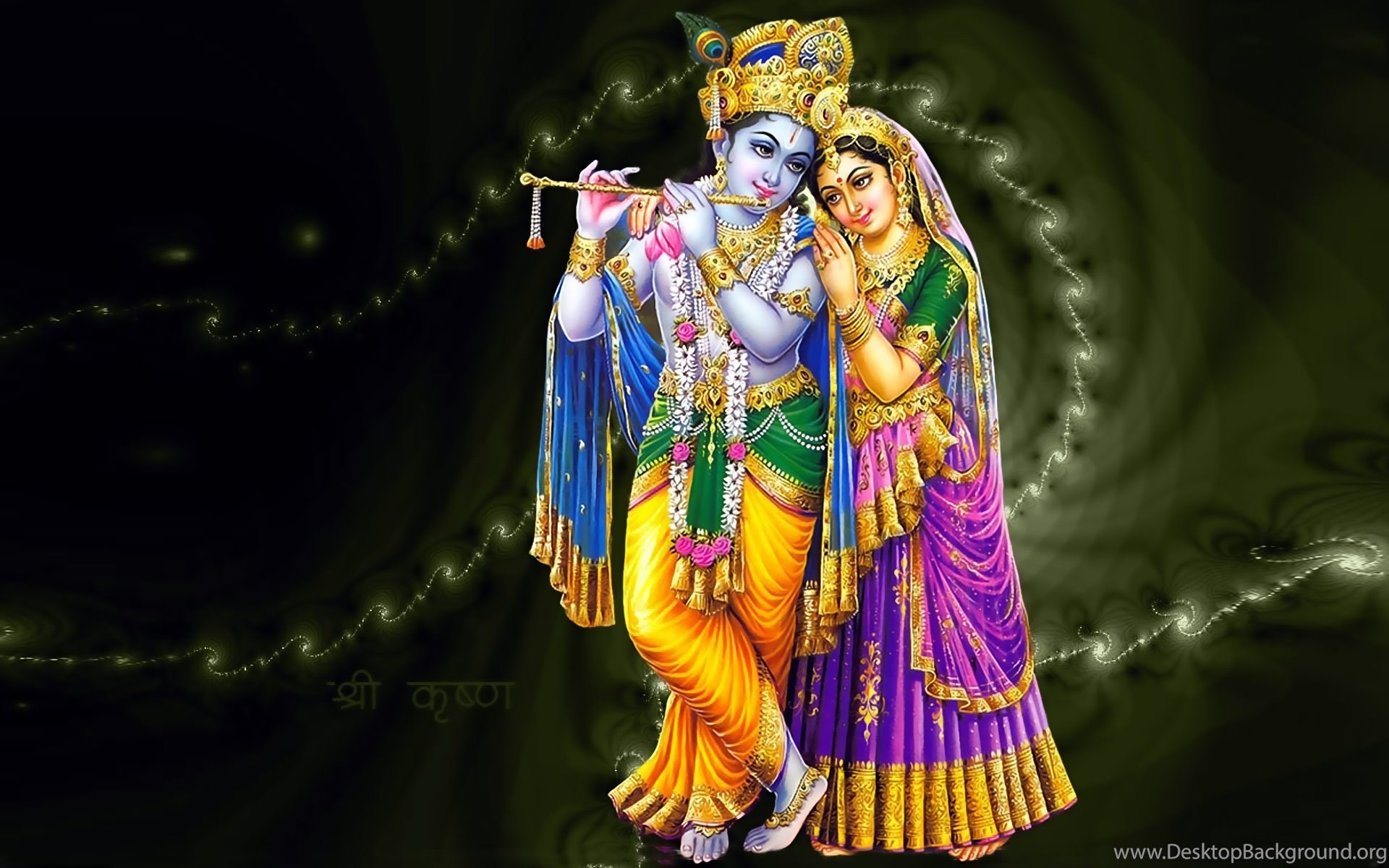 Hindu God Krishna Radha Desktop 1080p Full Hd Wallpapers Desktop Background