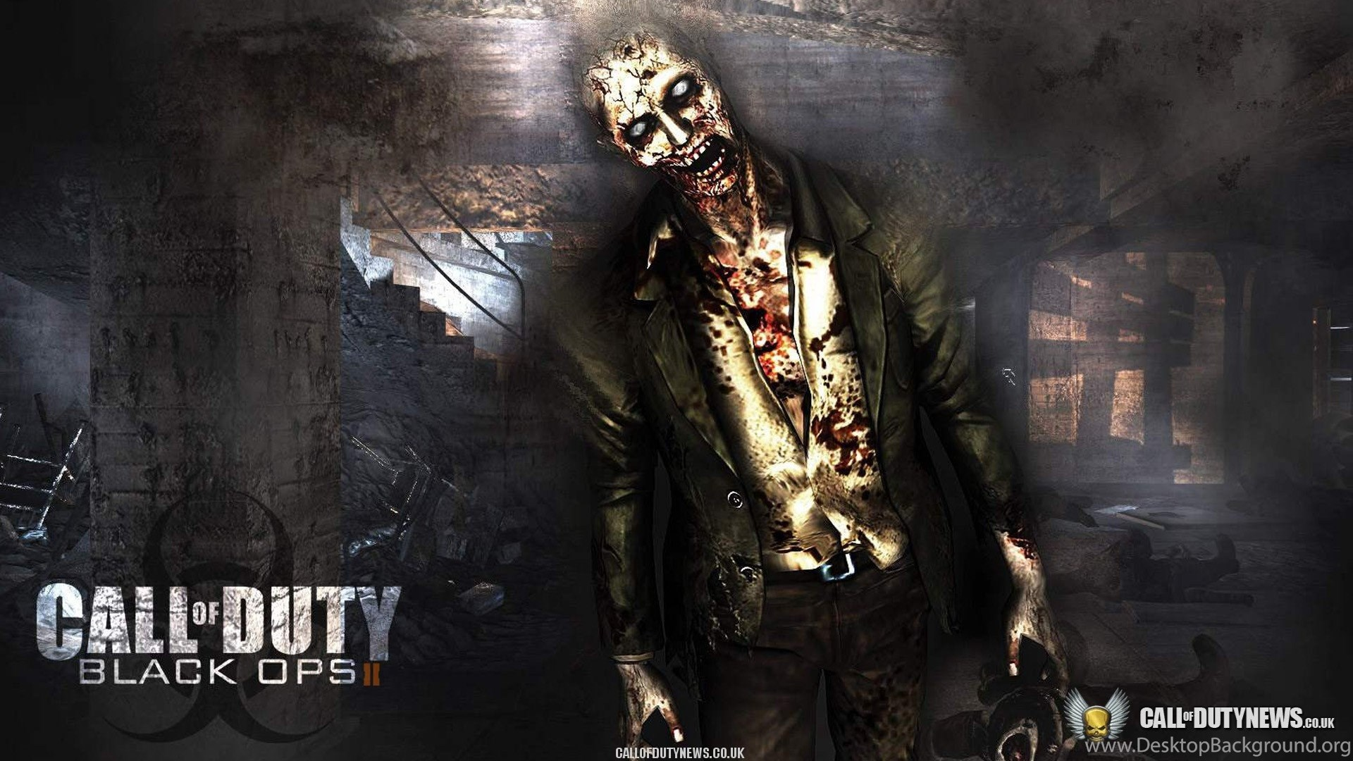 Black Ops 2 Wallpaper 71 Zombie Desktop Background