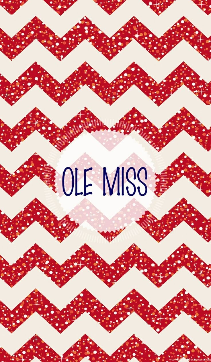 Ole Miss Glitter Chevron Red Iphone Wallpaper Made With Desktop Background
