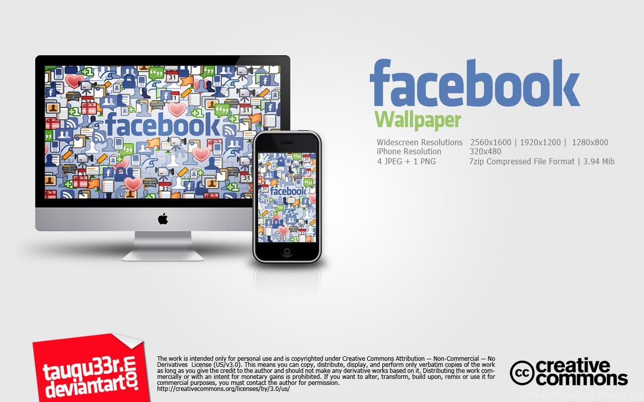 Facebook Wallpapers By Tauqu33r On DeviantArt Desktop Background