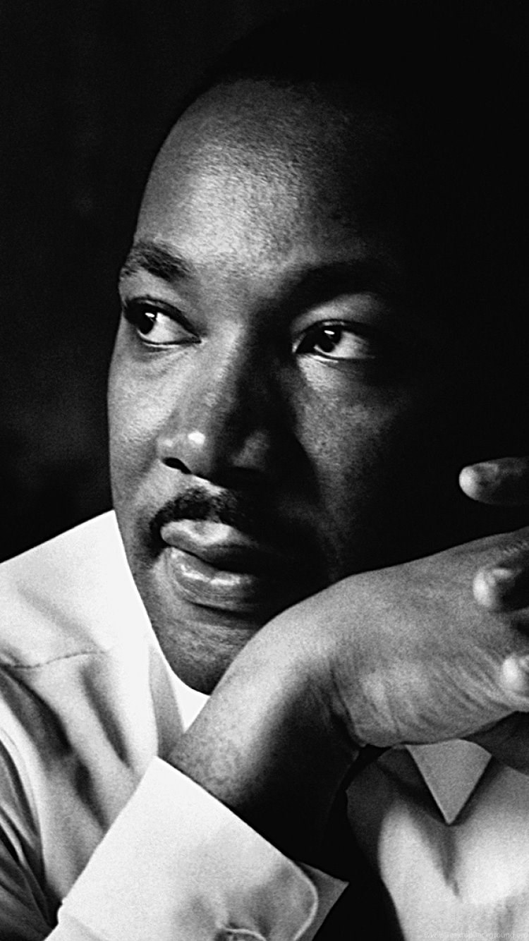 Download Wallpapers 750x1334 Martin Luther King Shirt Face Look