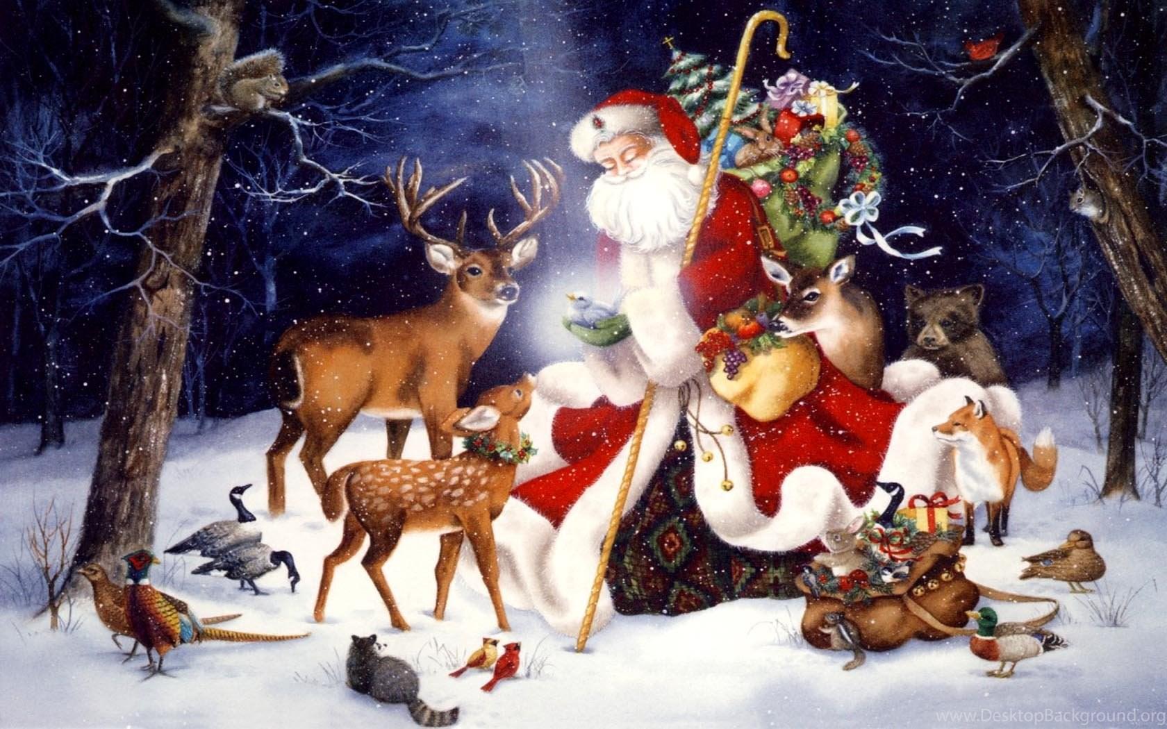 Скачать Обои На Рабочий Стол Дед Мороз