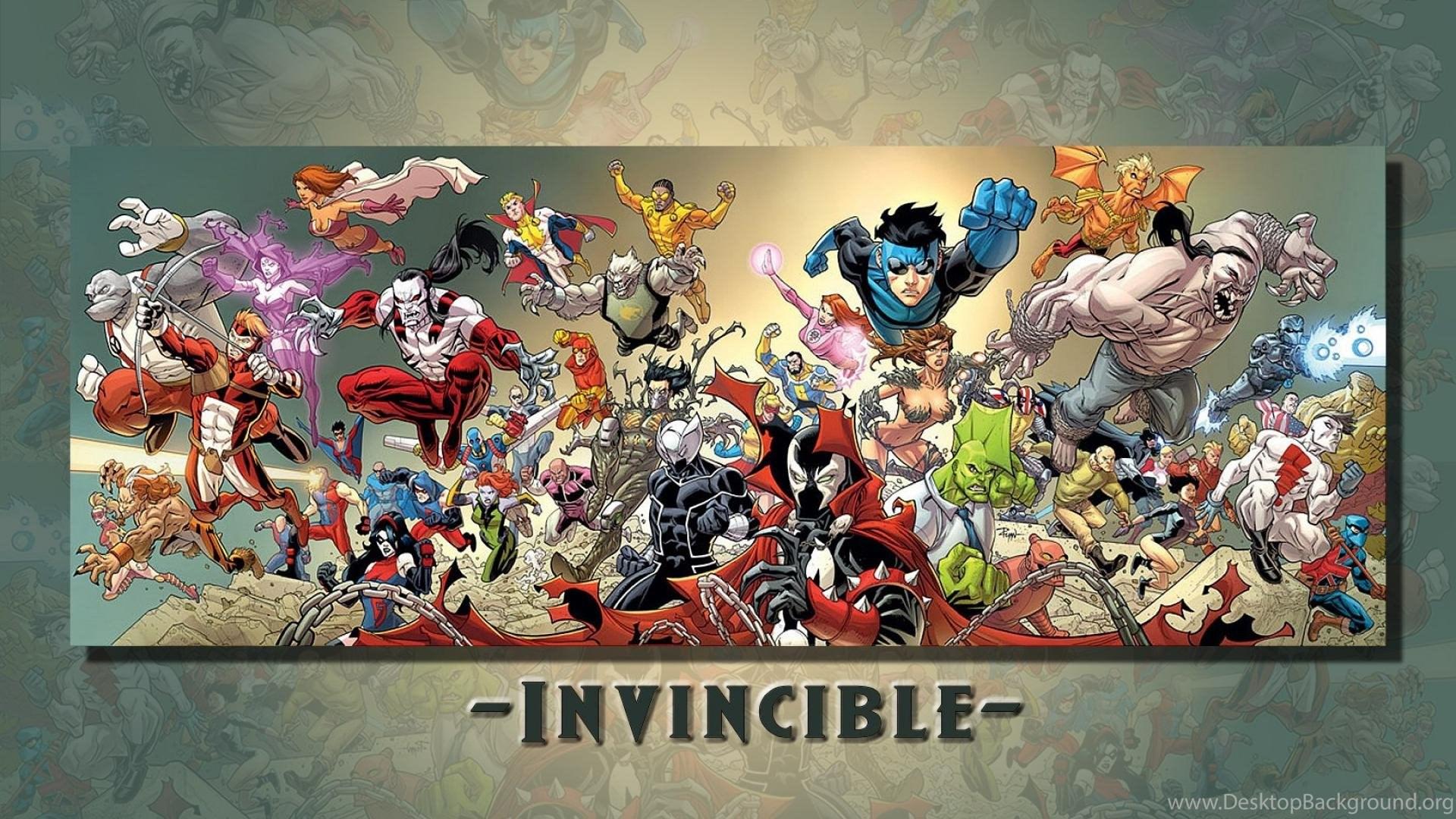 Invincible Comics Cartoon HD Wallpapers Desktop Background