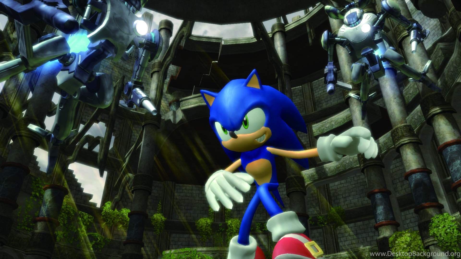 Sonic The Hedgehog 2006 Computer Wallpapers Desktop Backgrounds
