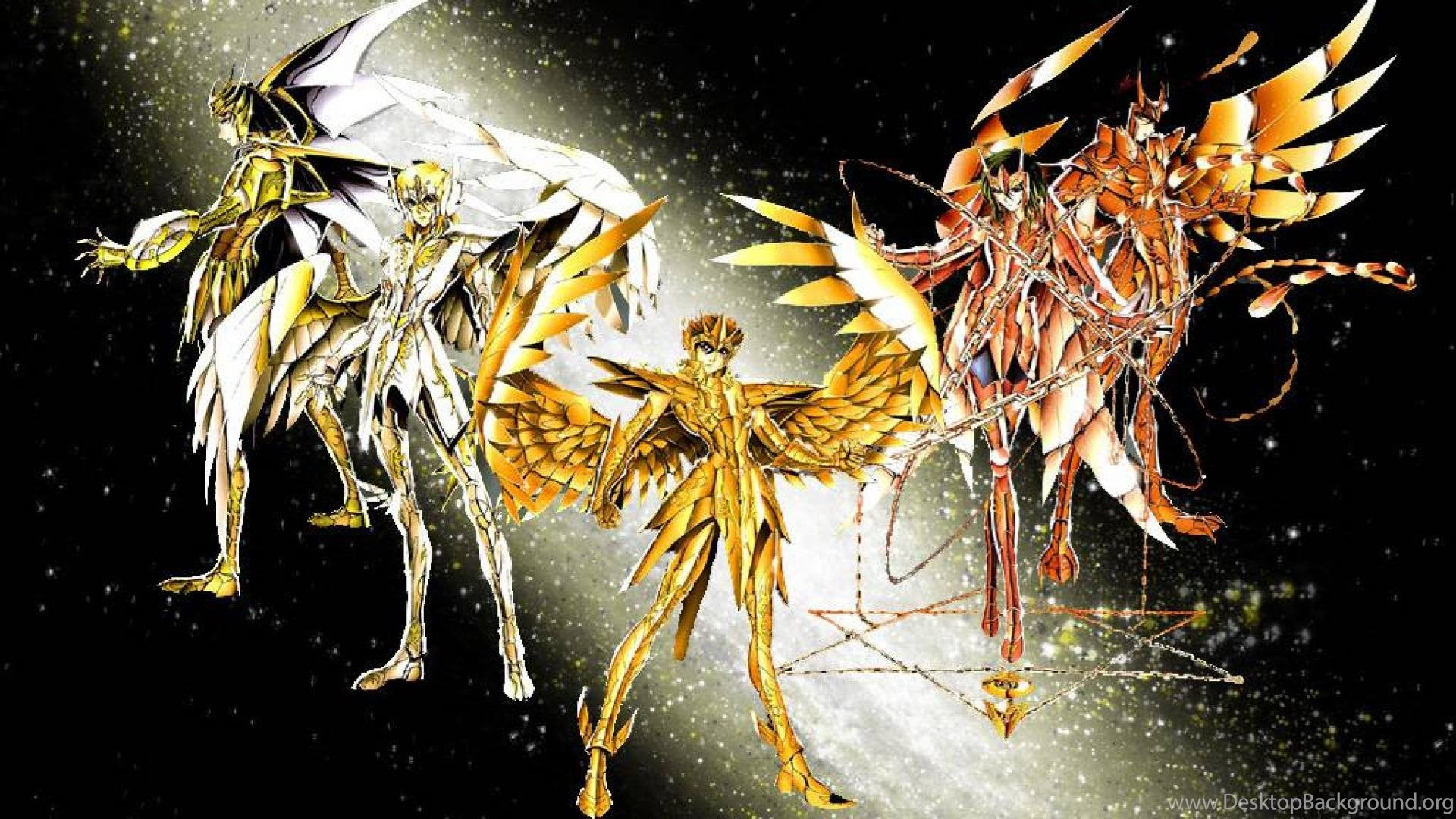 Athena Divine Saints By Blueshinobiepic Saint Seiya Wallpapers