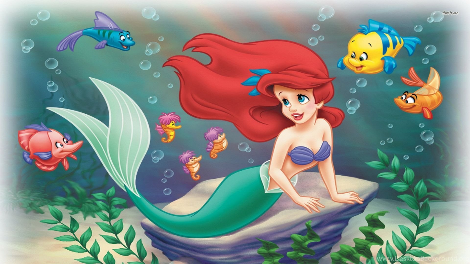 hd the little mermaid wallpapers desktop background