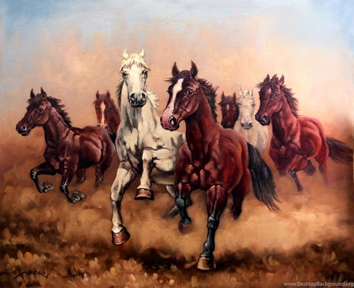 Hurry Up My Horses Seven Angels Pictify Your Social Art Network Desktop Background