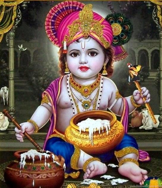 God Hd Wallpapers Baby Krishna Hd Wallpapers Desktop Background