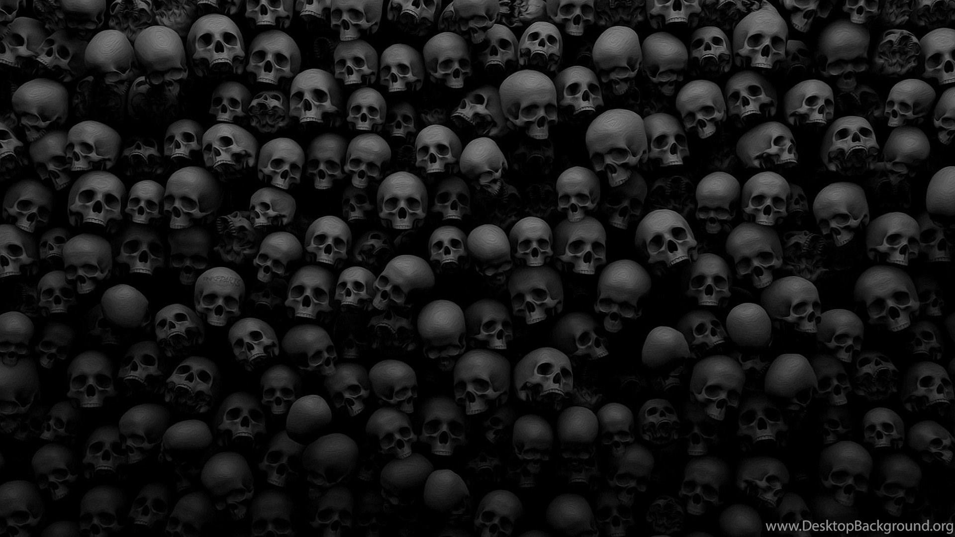 Skull black skulls 3d many wallpaper skull hd wallpaper - Skull 4k images ...