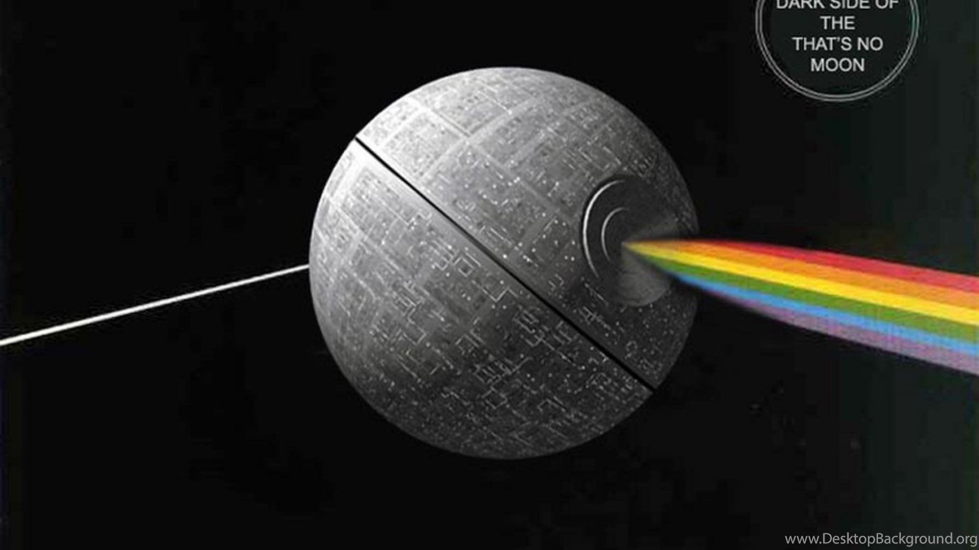 Death Star Pink Floyd Wars The Dark Side Of Moon