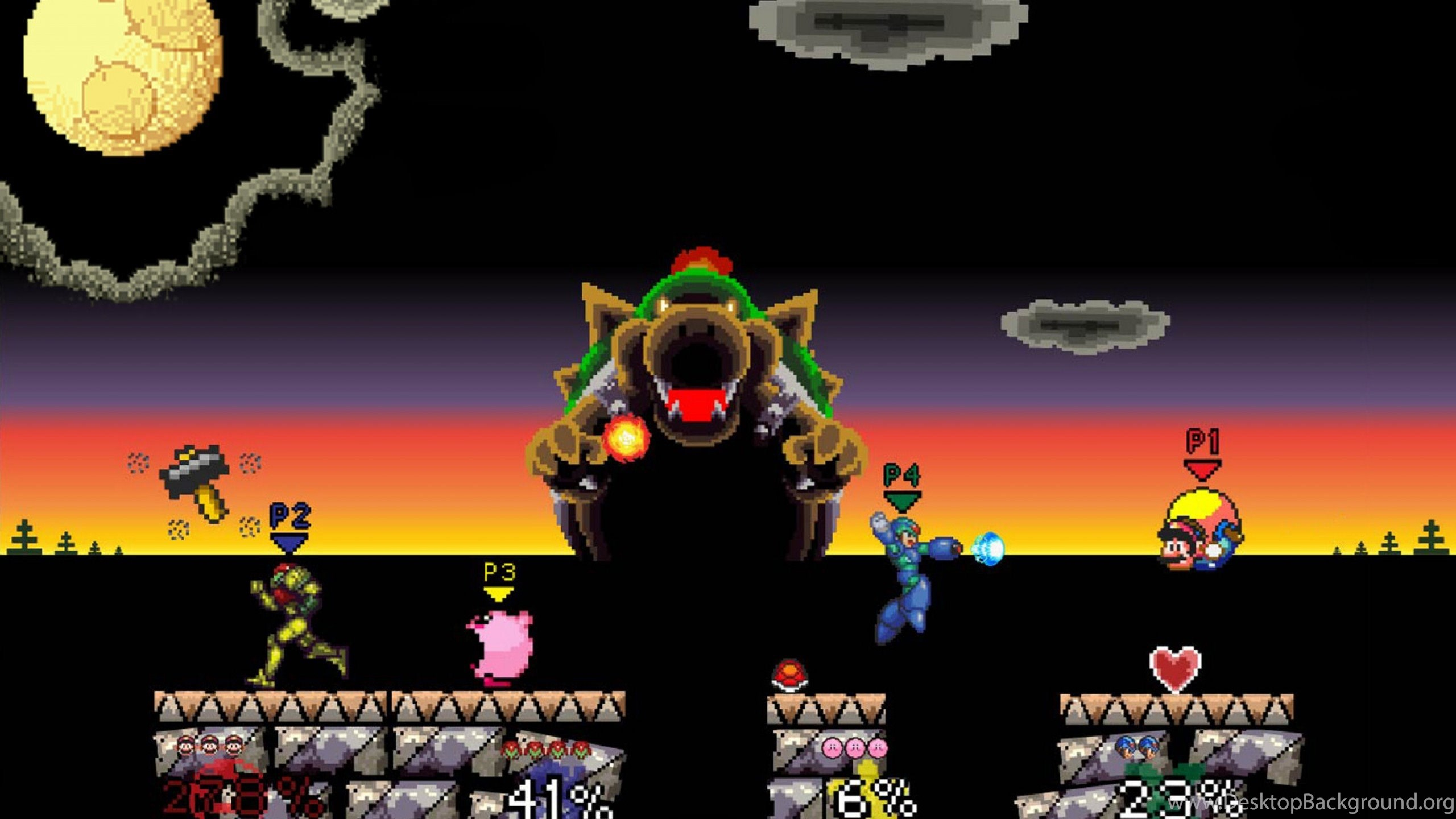 Super Smash Bros Super Nintendo Wallpapers 1274852 Desktop Background