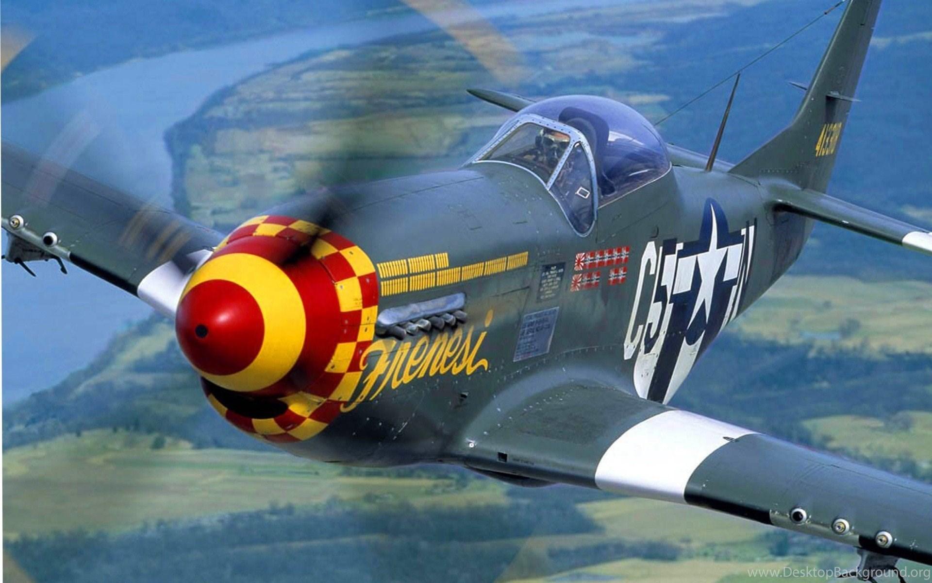 aircraft p 51 mustang wallpapers desktop background