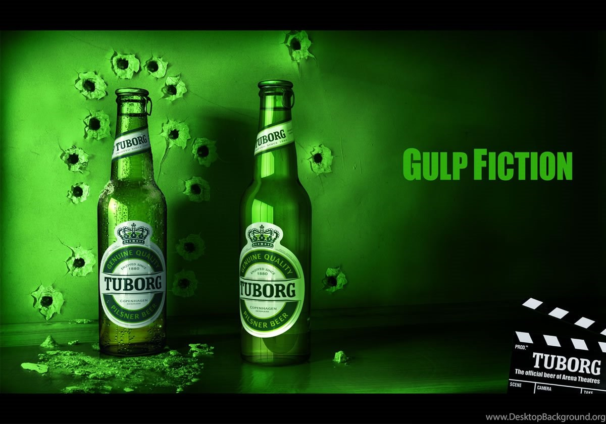 2wenty 4our Tuborg Block Busters Desktop Background