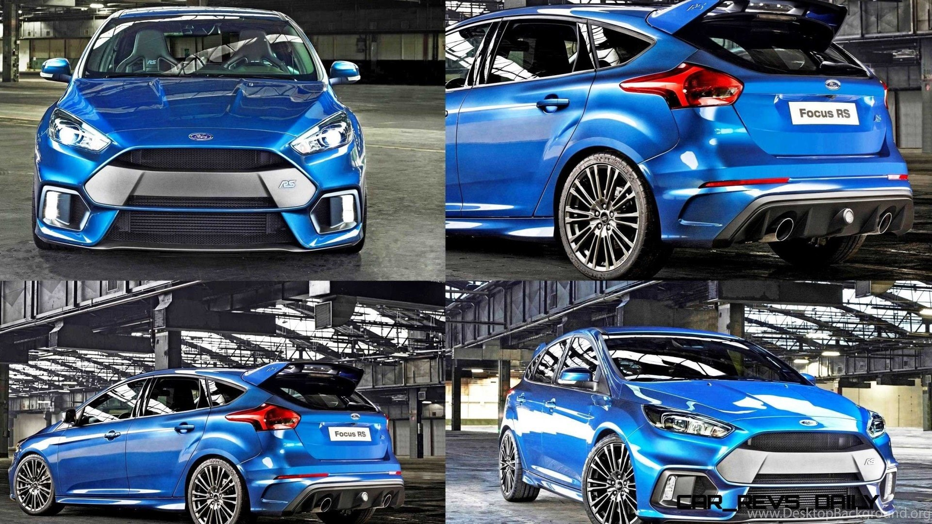 2017 Ford Focus Rs Wallpapers Image Desktop Background