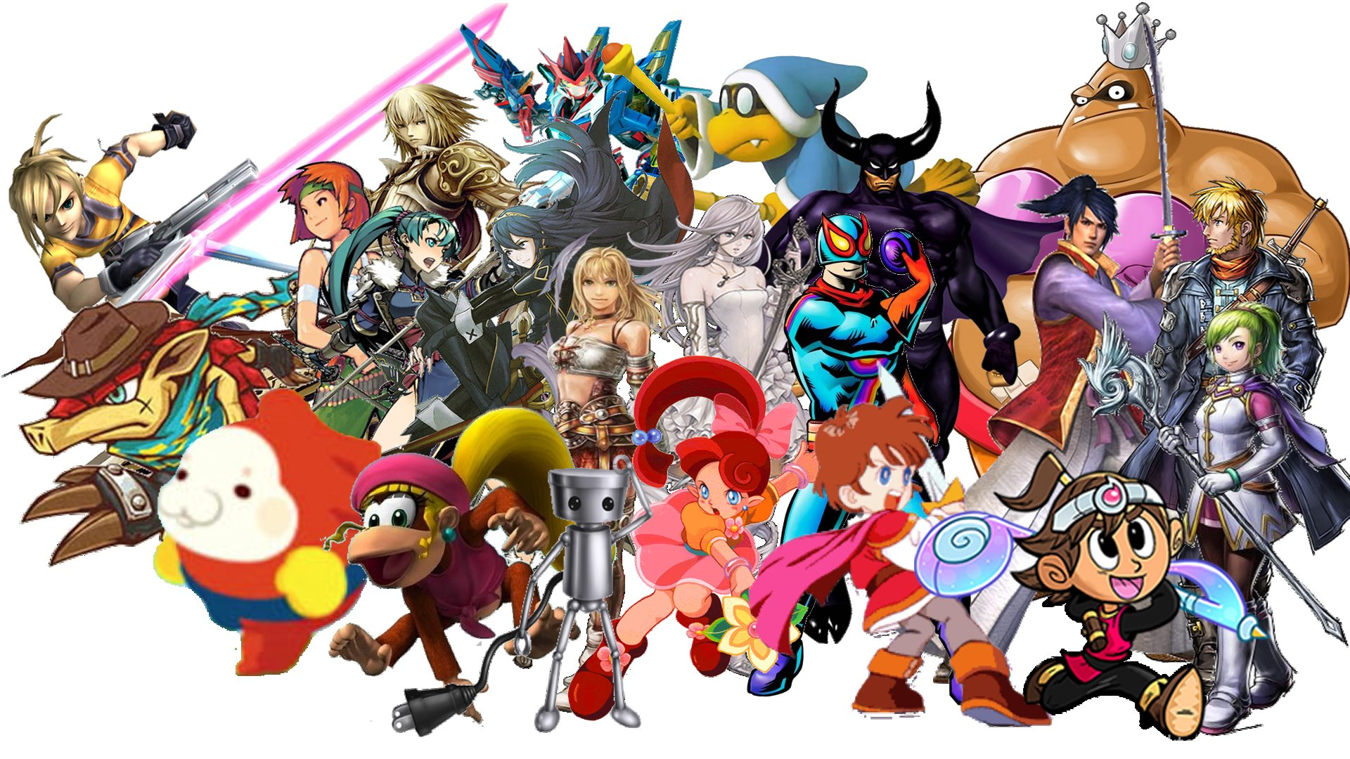 10 Super Smash Bros For Nintendo 3ds And Wii U Hd Wallpapers